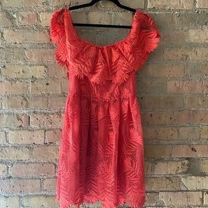 Coral Dress | Lovers + Friends